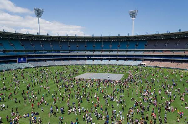 El MCG es uno de los estadios más grandes del mundo