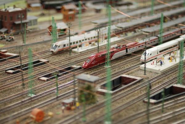 Miniatur Wunderland es un parque de trenes en miniatura en Hamburgo