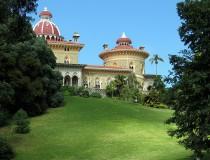El Palacio de Monserrate, en Sintra