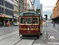 Los tranvías de Melbourne