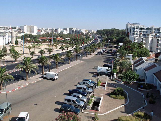 Jardines de Olhao en Agadir