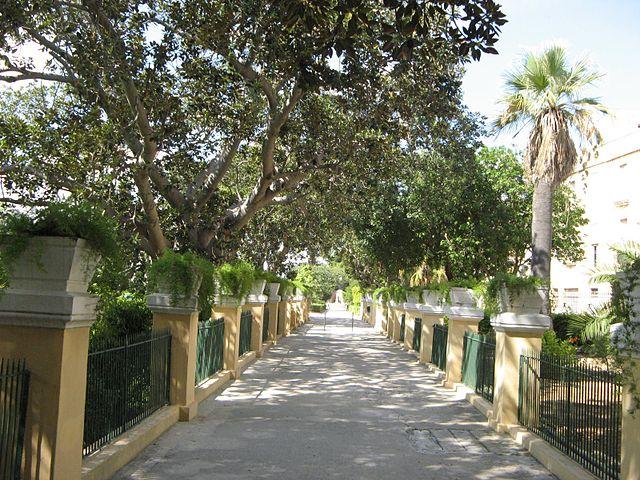 Jardines Argotti en Floriana