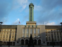 Torre del ayuntamiento de Ostrava