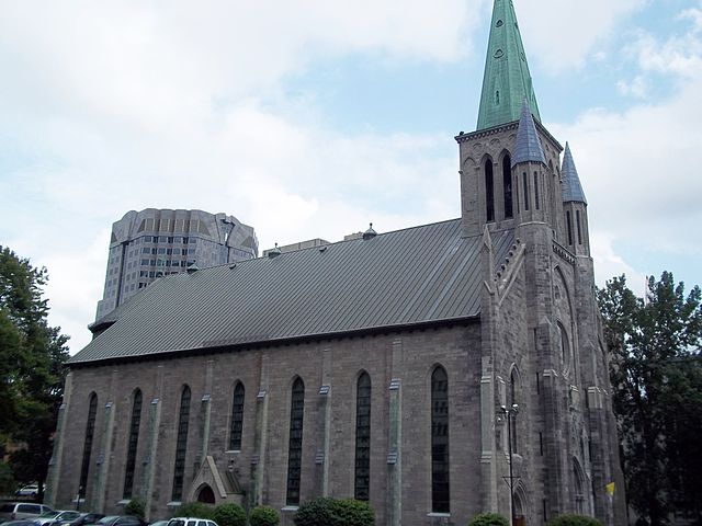 Basílica de San Patricio en Montreal
