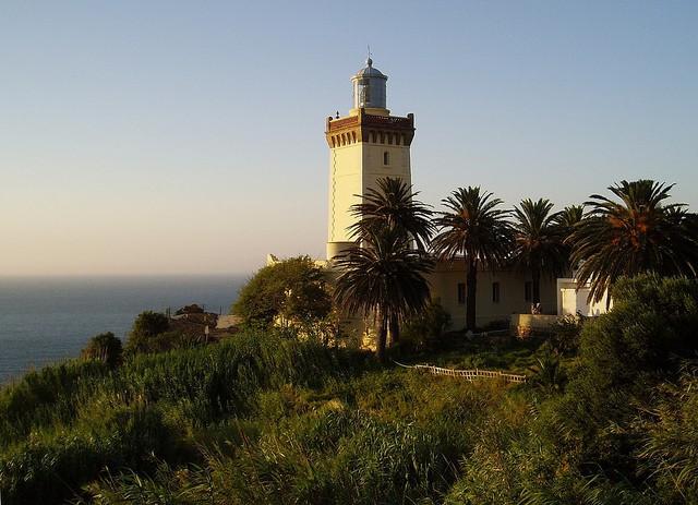 Faro en el Cabo Espartel de Tánger