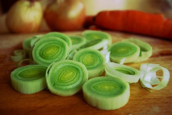 Exquisita sopa de cebolla