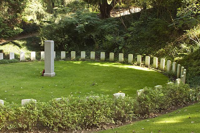 Cementerio Militar de St. Symphorien en Mons