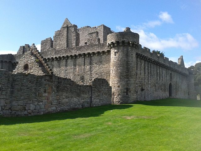 Castillo de Craigmillar en Edimburgo