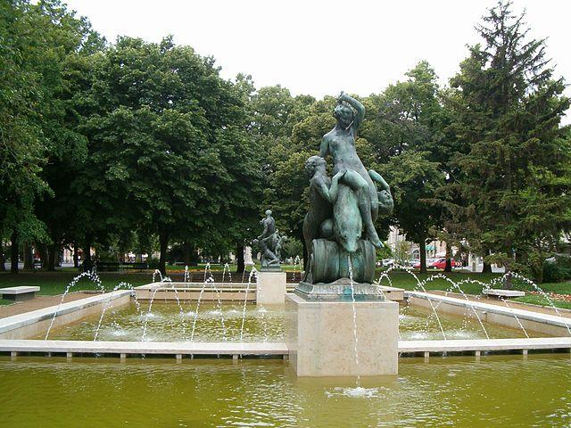 Tér Széchenyi en Szeged