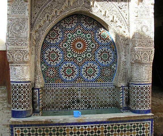 Fuente Nejjarine en Fez