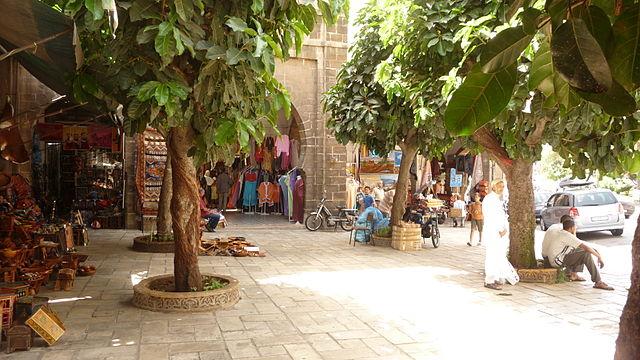 Barrio de Habous en Casablanca