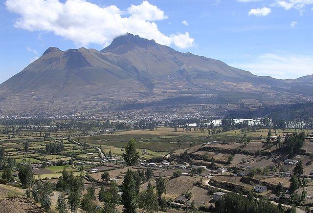 Parque La Merced en Ibarra