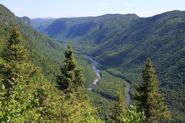 Parque Nacional Jacques -Cartier en Quebec