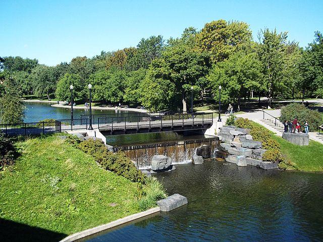 Parque La Fonatine de Montreal