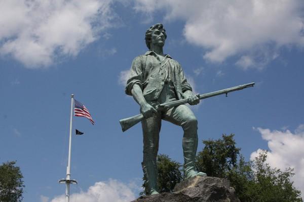 Lexington, el lugar donde se inició la Guerra de la Independencia