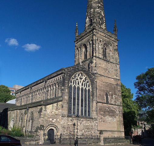 Iglesia de Santa María de Castro en Leicester