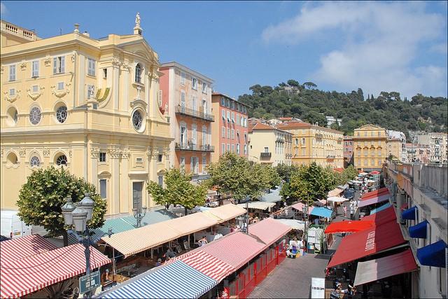 Mercado Cours Saleya en Niza