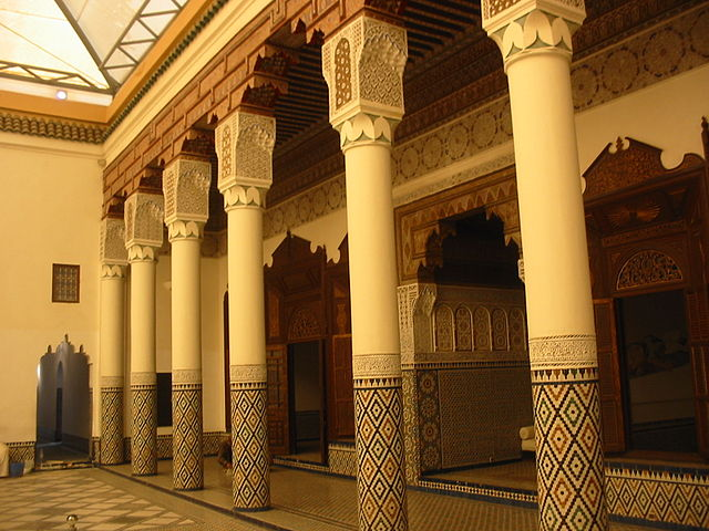 Palacio Mnehbi en Marrakech