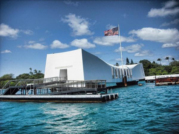 La base naval Pearl Harbor, en la isla Oahu de Hawaii