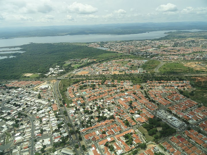 Plaza Bolívar de San Félix en Ciudad de Guayana