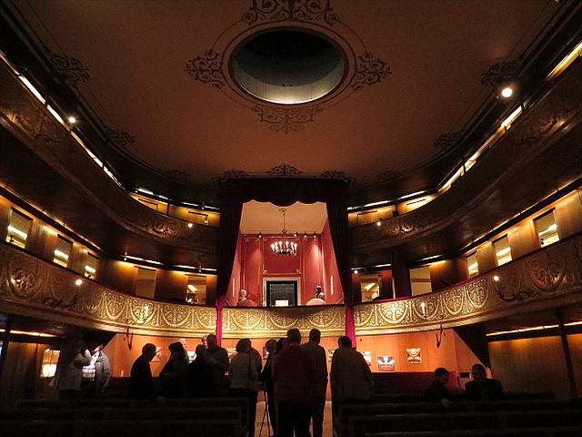Museo del Teatro de la Corte en Copenhague