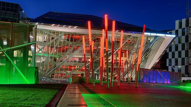 Bord Gais Energy Threatre, moderno teatro en Dublín
