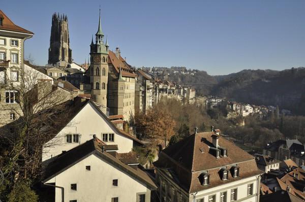 Friburgo, una pequeña ciudad medieval