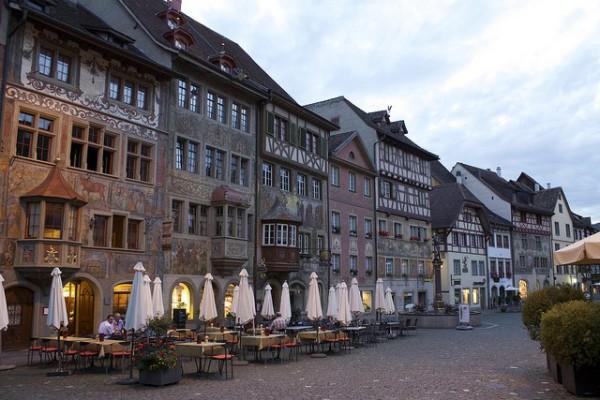 Stein am Rhein, uno de los pueblos suizos más bonitos
