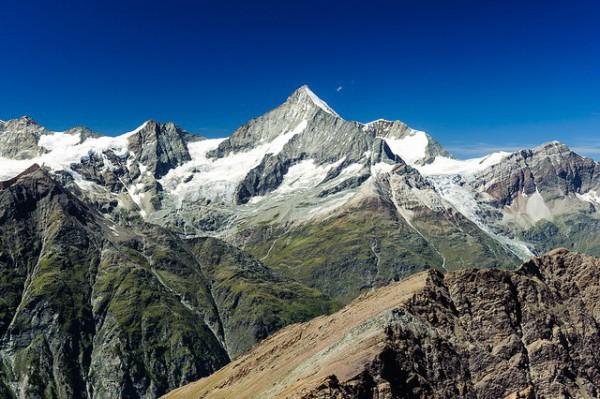 Weisshorn, una de las montañas más hermosas de Suiza
