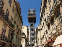 El Elevador de Santa Justa, en Lisboa