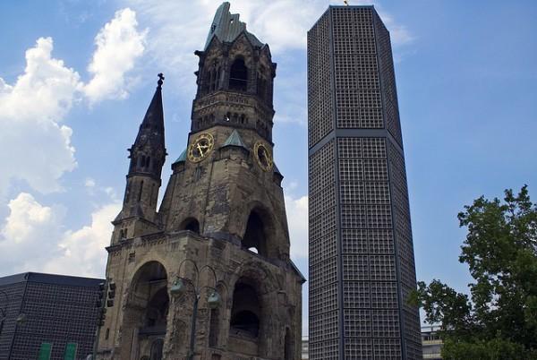 La Iglesia en honor al Kaiser Guillermo, también conocida como Iglesia del Recuerdo