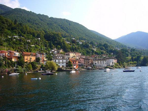 El Lago Maggiore es uno de los más grandes de Italia