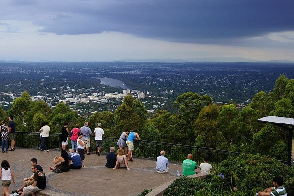 Mount Coot-tha, las mejores vistas de Brisbane