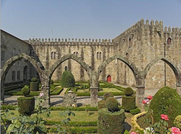 El Palacio Episcopal es uno de los edificios emblemáticos de Braga