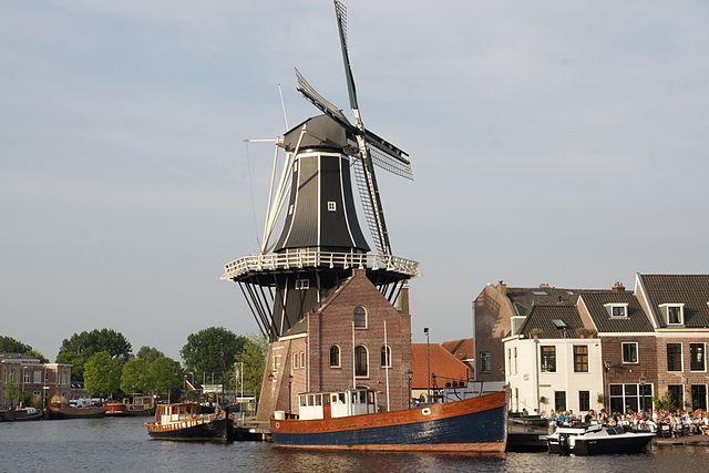 Molino de Adriaan en Haarlem