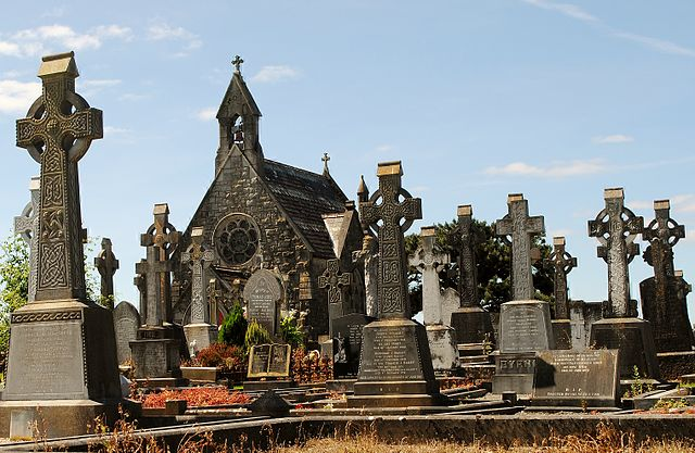 Cementerio de Bohermore en Galway