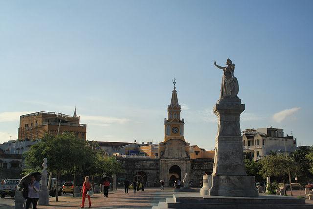 Camellón de los Mártires de Cartagena de Indias