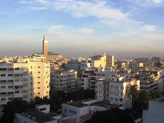 Mercado en Derb Ghalef de Casablanca