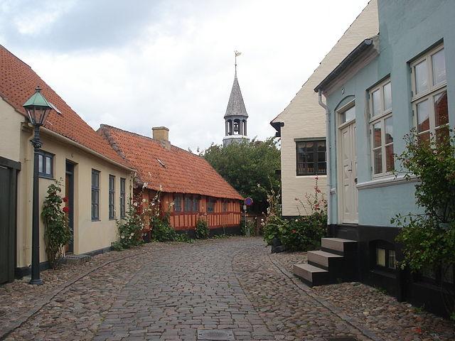 Fragata KMD Jylland en Ebeltoft