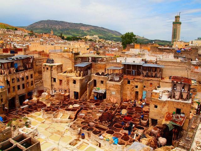 Palacio Glaoui en Fez
