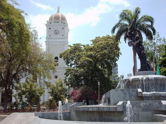 Plaza Atanasio Girardot en Maracay
