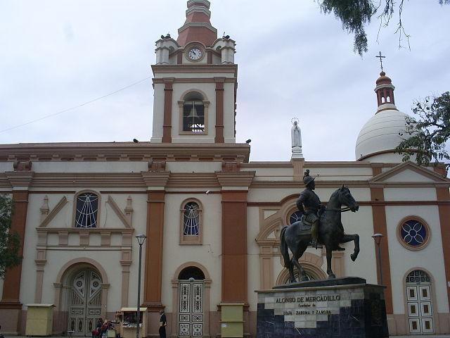 Iglesia de San Francisco en Loja