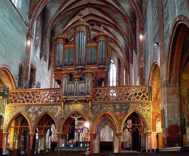 Iglesia Protestante de San Pedro El Joven en Estrasburgo