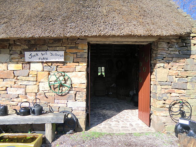 Kerry Bog Village en Irlanda