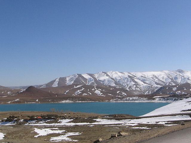 Lago Tislit en Marruecos