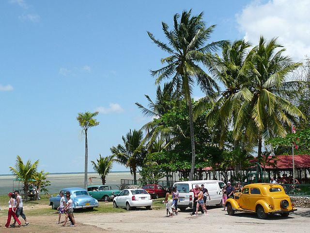 Laguna de Leche en Cuba