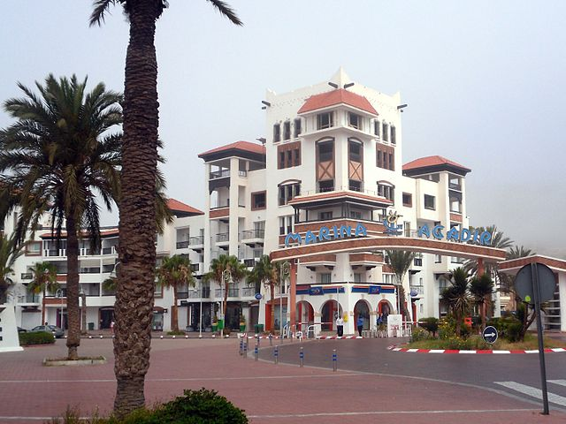 Conocer la Marina de Agadir