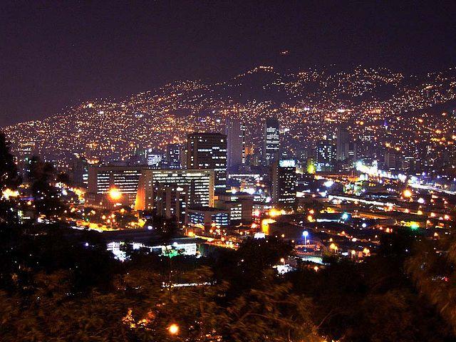 Parque de Piedras Blancas en Medellín