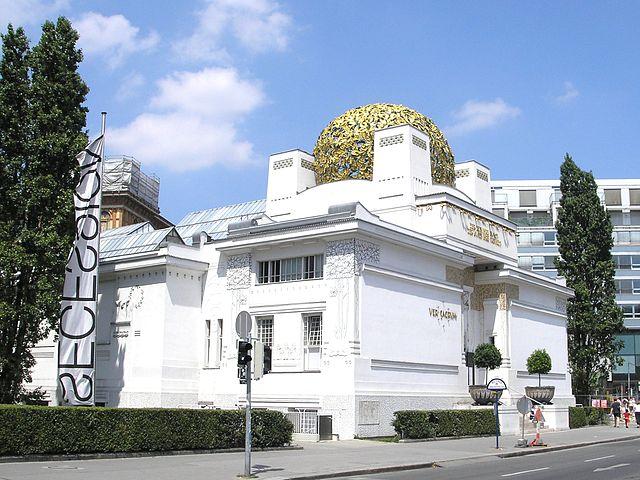 Edificio de la Secesión en Viena