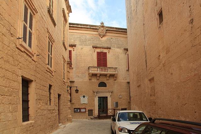 Palacio de Piro en Mdina